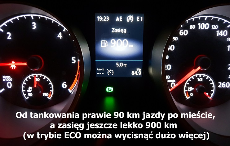 touran volkswagen 20 tdi zuzycie paliwa opinie test 11