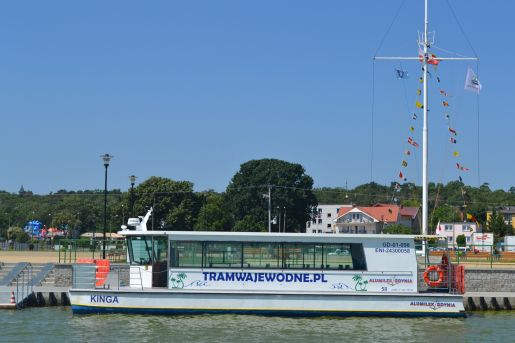tramwaj-wodny-jastarnia-polwysep helski atrakcje