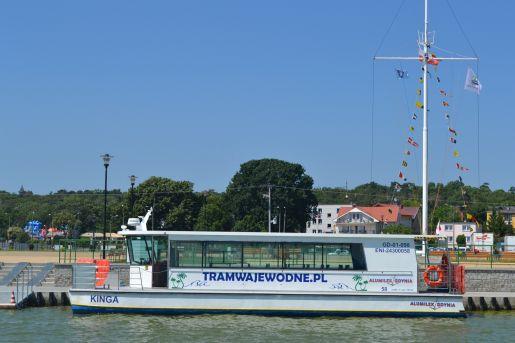 rejsy pasażerskie Jastarnia opinie tramwaj wodny