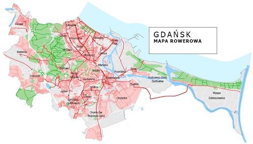 trasy rowerowe gdańsk gdzie na rower z dzieckiem
