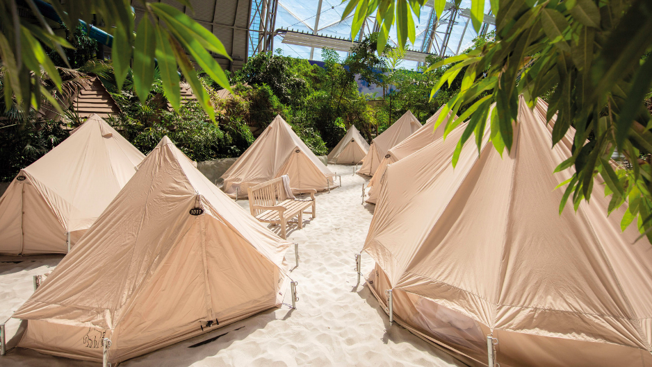 tropikalna wyspa tropical isand berlin ceny opinie bilety z dzieckiem nocleg namioty