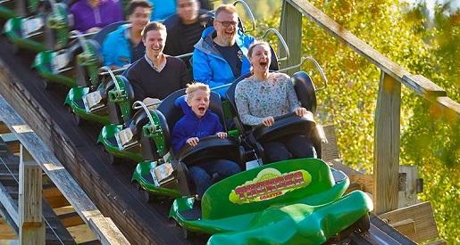 tusenfryd thunder coaster park rozrywki ranking parkow rozrywki