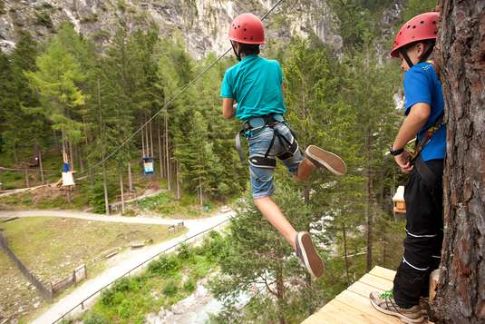 tyrolka wąwóz galitzenklamm austria atrakcje z dziećmi Południowy Tyrol