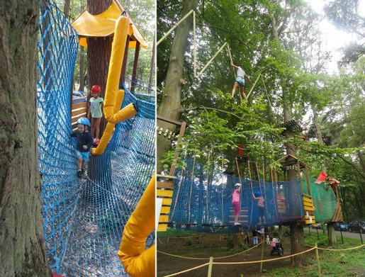 ustronie morskie atrakcje dla dzieci park linowy gibon opinie trasy ceny bilety