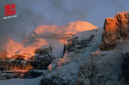 Val di Fassa Włochy trasy narciarskie atrakcje