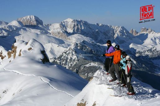 Włochy Dolomity narty opinie atrakcje