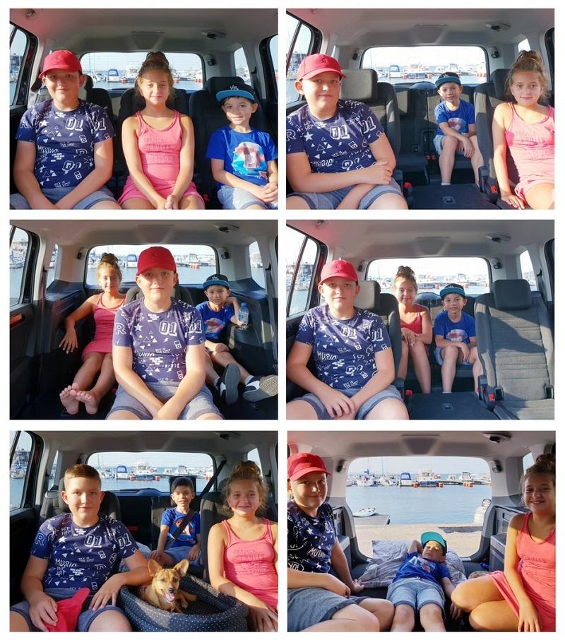 volkswagen touran opinie 7 miejsc komfort ilość miejsca na nogi