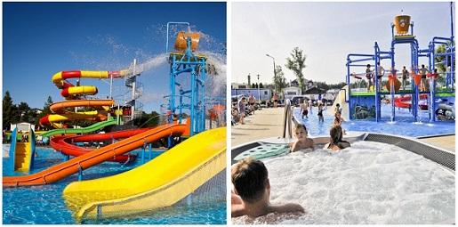 wakacje 2021 nad morzem z aquaparkiem basenem domki