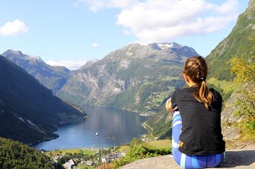 widoki Norwegia góry - co zobaczyć fiordy