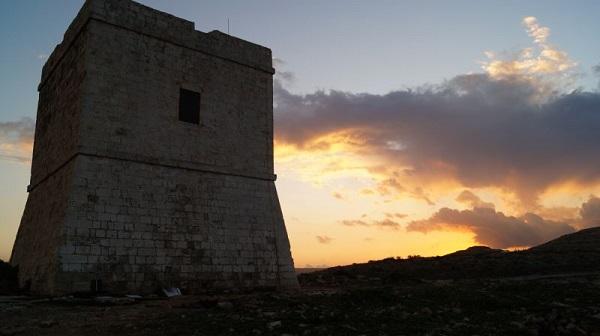 wieża Madliena Malta atrakcje