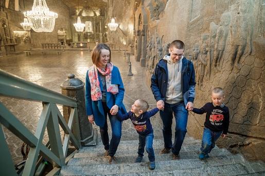 wieliczka kopalnia solilandia atrakcje dzieci rodzinne opinie