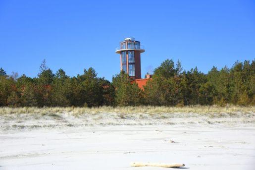 wieża widokowa Dębki atrakcje opinie