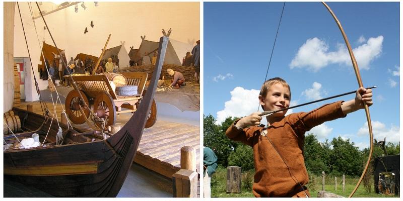 wikingowie Dania atrakcje dla dzieci wakacje co zobaczyć