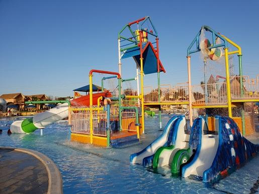 wodny plac zabaw dla dzieci Jungle Aquapark Hurghada opinie ciepła woda podgrzewane baseny