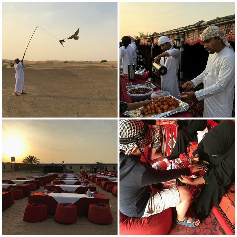 wycieczka na pustynię z dzieckiem Dubaj opinie obiad na pustyni