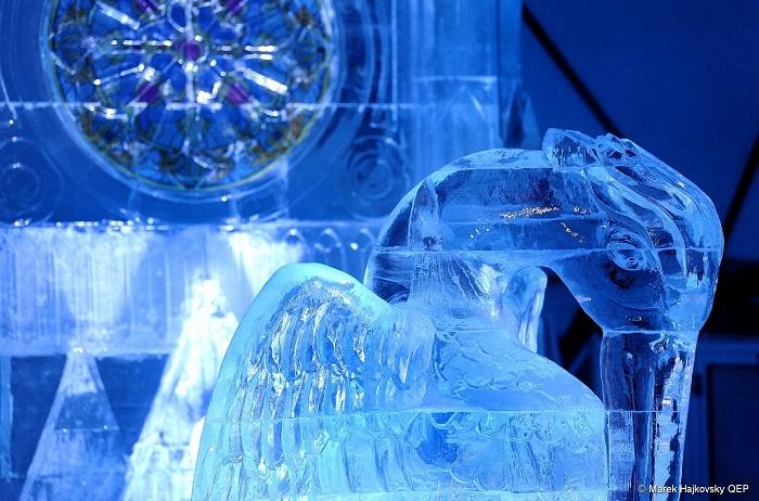 wystawa rzeźby z lodu tatry świątynia lodowa słowacja atrakcje 2019 2020