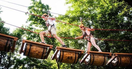żywiec i okolice atrakcje dla dzieci góra żar park linowy trollandia opinie