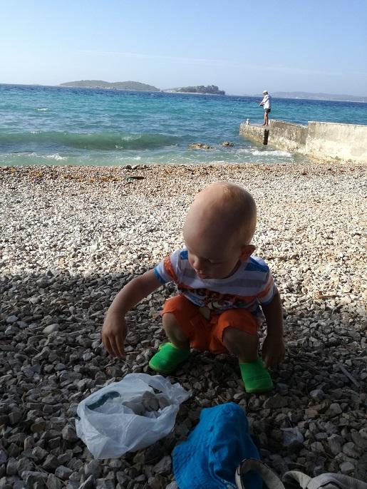 rocznym dzieckiem do Chorwacji samochodem
