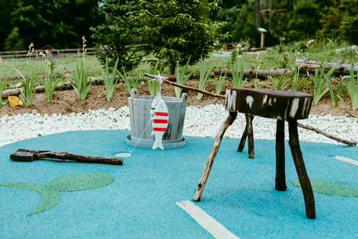 zabawa minigolf na kaszubach park rozrywki atrakcje rodzinne