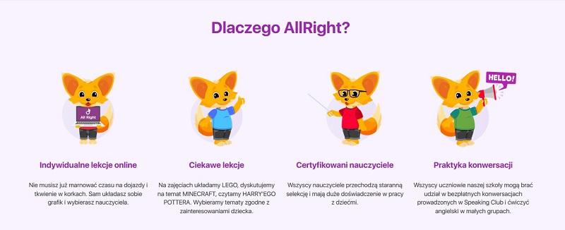 zalety lekcji online angielski dla dzieci
