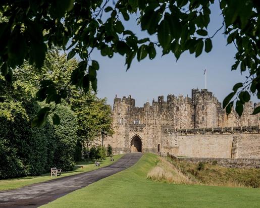 zamek alnwick harry potter miejsca do odwiedzenia