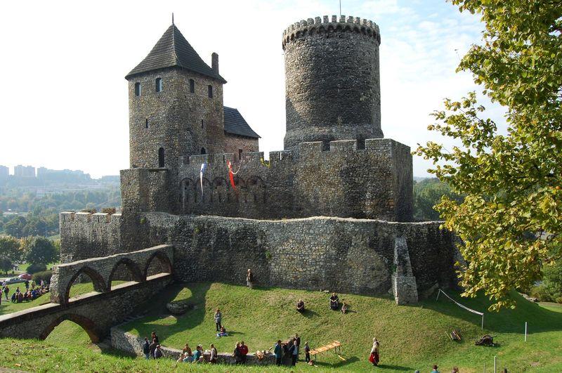 Zamek w Będzinie opinie rodzinne atrakcje