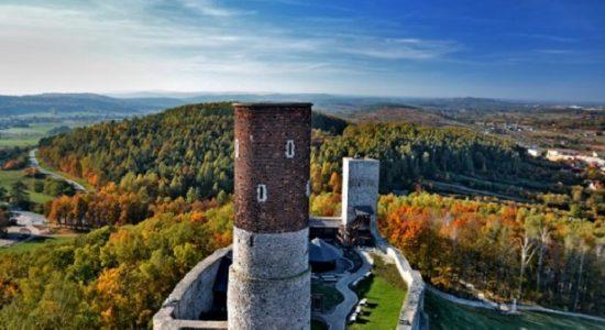 Zamek Chęciny Góry świętokrzyskkie opinie atrakcje