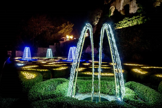 zamek książ ogrody światła godziny otwarcia opinie Wałbrzych atrakcje