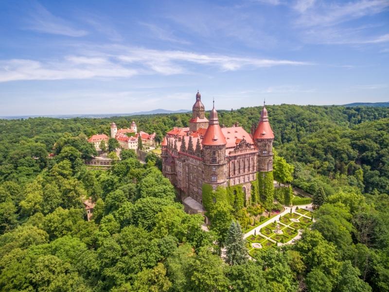 najciekawsze zamki w Polsce zwiedzanie opinie Zamek Książ
