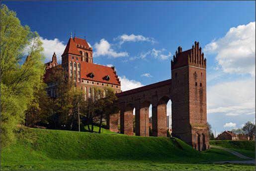 najpiękniejsze zamki w Polsce Kwidzyn zwiedzanie