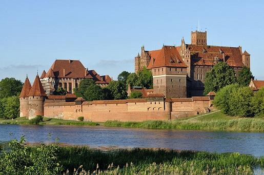 największe zamki w Polsce zwiedzanie opinie Malbork