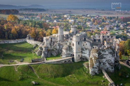 atrakcje dla dzieci Ogrodzieniec Podzamcze najciekawsze zamki w Polsce do zwiedzania