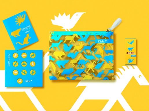 zestaw zabawek Air France dla dzieci podróż samolotem