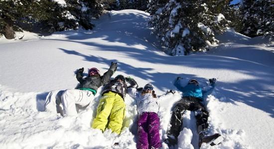 Zillertal Arena narti z dziećmi