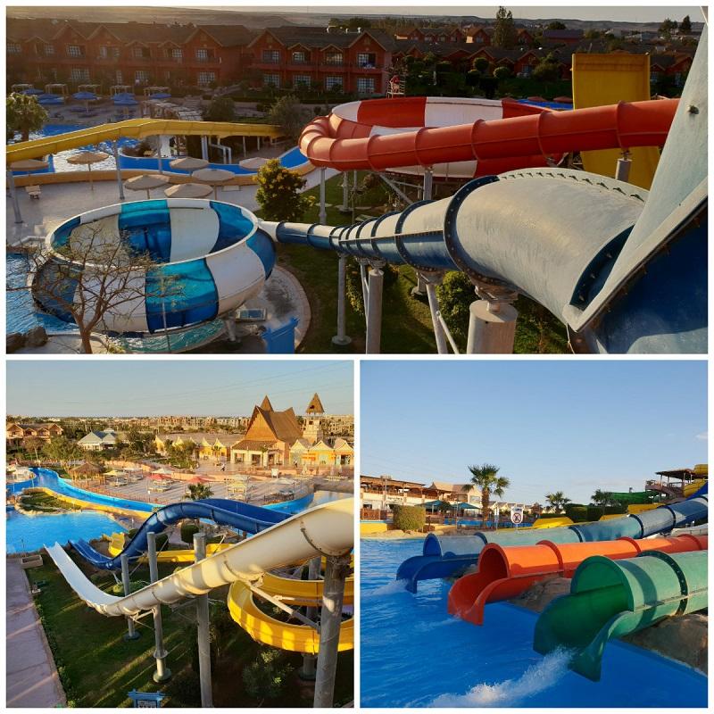 zjeżdżalnie aquapark jungle hurghada opinie zdjęcia dla dzieci