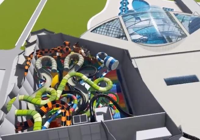 zjeżdżalnie aquapark suntago park of poland mszczonów wręcza kiedy otwarcie 2019