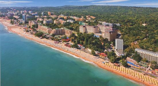 Złote Piaski rodzinne atrakcje Bułgaria