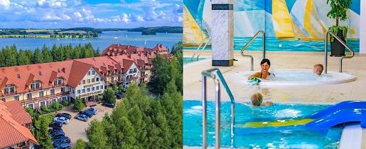 Hotel Robert's Port, Mazury, urlop z dziećmi, wakacje , hotel z basenem