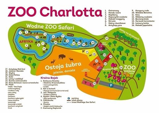 zoo w dolinie charlotty opinie ceny biletów godziny otwarcia